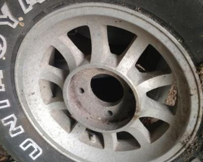 Western aluminum wheels