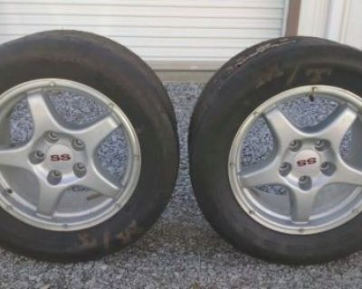 Camaro Ss Rims Oem 16 Wheels 26x11.5-16 Mickey Thompson Et Street Slick Tire Mt
