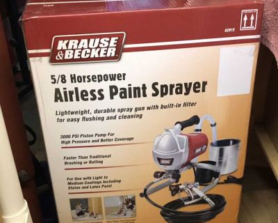 Never Used -New Airless Paint Sprayer