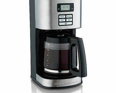 Hamilton Beach 12-Cup Programmable Coffee Maker NEW SEALED