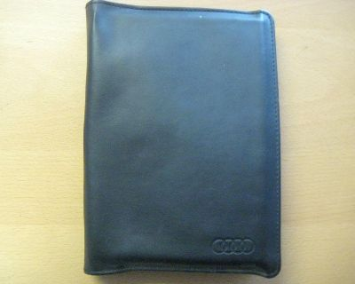 2002 Audi A4 Books Oem Factory Owners Manual With Leather Binder