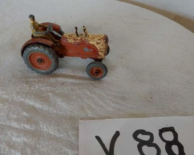 Vintage Dinky toy tractor
