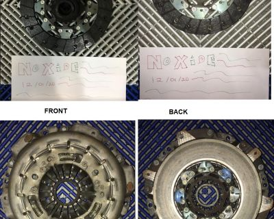 GT350 Flywheel and Clutch Assembly