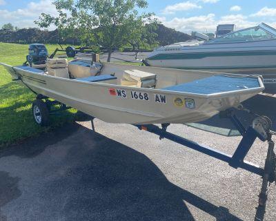 1985 Lowe 15 FT Jon Aluminum Fish Boats Appleton, WI