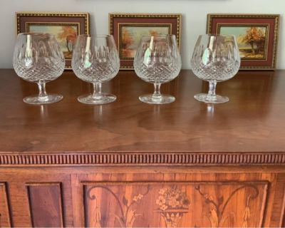 vintage Waterford balloon brandy snifter