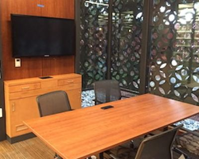 Private Meeting Room for 4 at Palo Alto City Library - Rinconada Branch