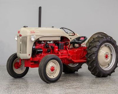 1951 Ford Tractor Funk Conversion
