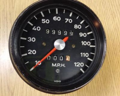 Porsche 914 Speedometer VDO 10/71 - Free Shipping!