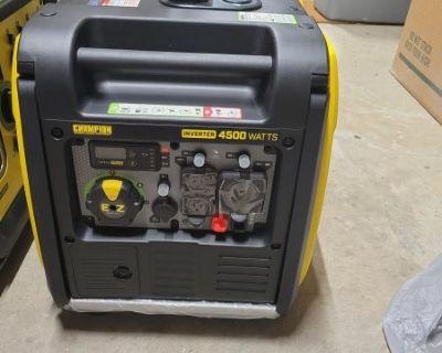 FS Champion 4500 watt inverter generator