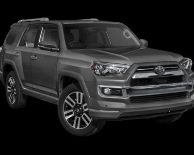 New 2022 Toyota 4Runner Limited 4X2 InTransit