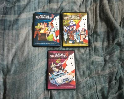 Lot Of 3 Ghostbusters Cartoon DVDs