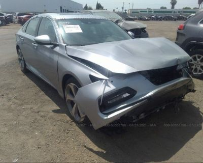 Salvage Silver 2020 Honda Accord Sedan