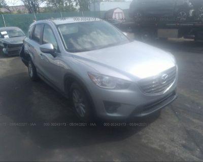 Salvage Gray 2016 Mazda Cx-5