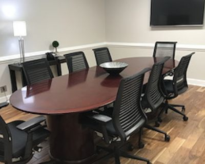Private Meeting Room for 8 at Peachtree Offices at Lenox, Inc.