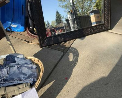 Large Mirror $25 @ Garage Sale Today in Cameron Park