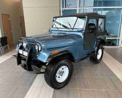 Used 1973 Jeep CJ5 Soft Top