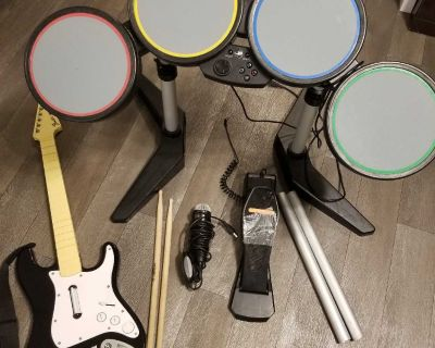 Rock Band set for PS4/PS3/PS2