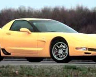 2001 Chevrolet Corvette 2dr Z06 Hardtop