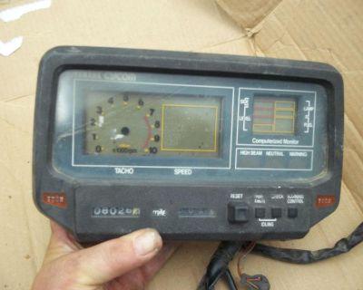 1982 Yamaha Xv 920 Digital Gauge Pack Xv920 Speedometer Virago Digital Cycom Xv