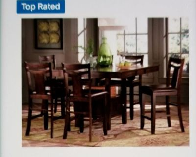 Marcey Counter Height Table and Chairs