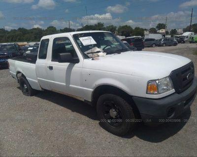 Salvage White 2010 Ford Ranger