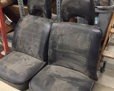 USED 1977-1979 VW Bus Front Bucket Seats
