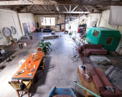 Creative Warehouse Loft, Los Angeles, CA