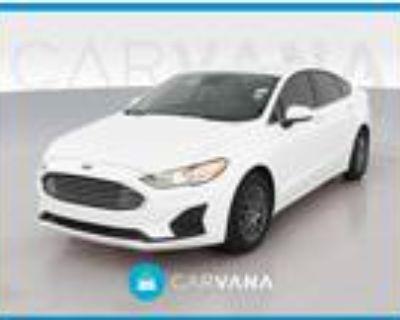 2019 Ford Fusion White, 36K miles