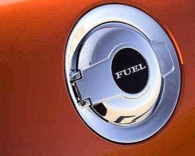 2008-2013 Dodge Challenger Gas Fuel Door Chrome Mopar Genuine Oem Brand New