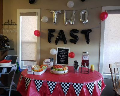 Two year old Party Decor