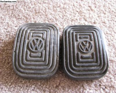 Original Used VW Oval Pedal Pads