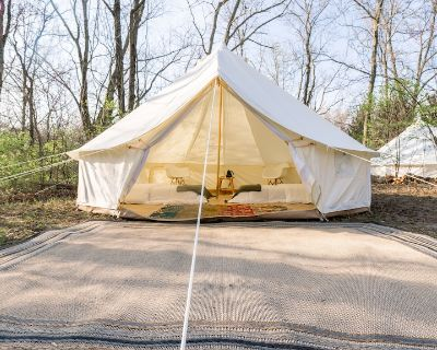 Glamp In Secluded Sanctuary At Ranch - 2 Full Beds - Kansas City