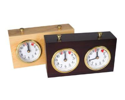 Wooden Analog Chess Clock