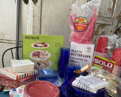 Party Table Supplies