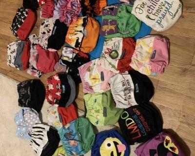 36 Bella Luna/Ella Bella bum/1 Alva Baby cloth diapers