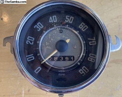1966 speedometer