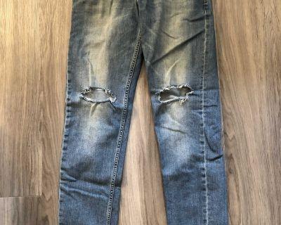 ASOS Mens Slim Ripped Jeans 32