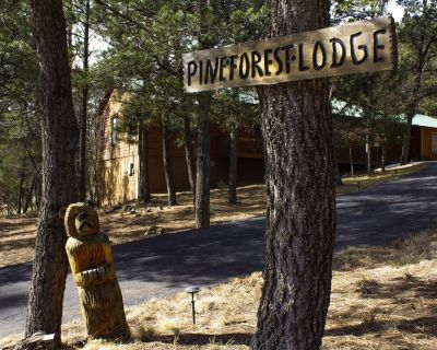 Pine Forest Lodge Cabin: hot tub, gameroom with pool table AND 3 full baths - Ruidoso