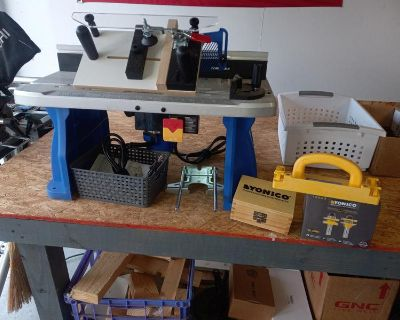Router Table, bits, sled..etc