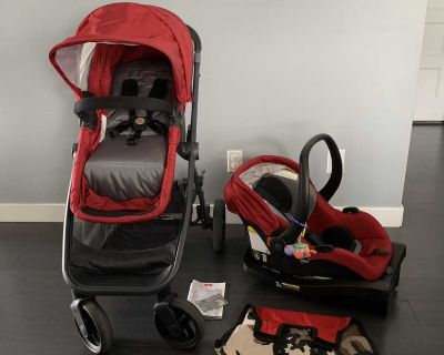 !Clean! Graco Car Seat/Stroller Combo
