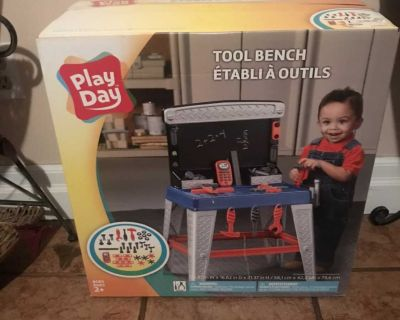 Toy tool bench