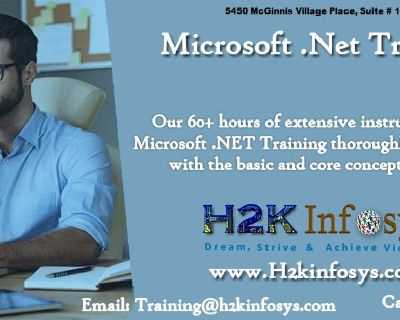 .Net Online Training Classes and Placement Assistance By H2kinfosys