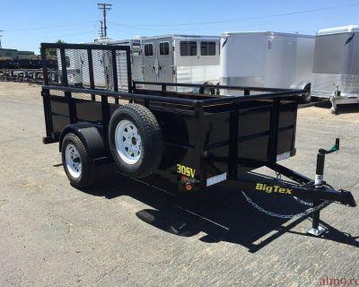 10ft Single Axle Vanguard, Utility Trailer, Big Tex Trailer 30SV-10