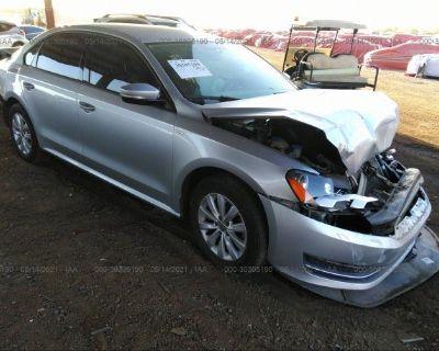 Salvage Silver 2015 Volkswagen Passat