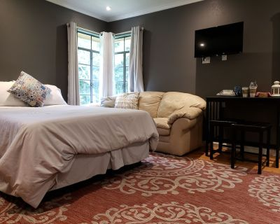 Queen Bed Private Medical Center Area Pets welcome very comfortable bed - Ingram Hills