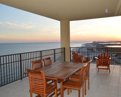 Huge 4 Bedroom, 4 1/2 bath, 2600 sq foot luxury condo; best sunset views! - Orange Beach