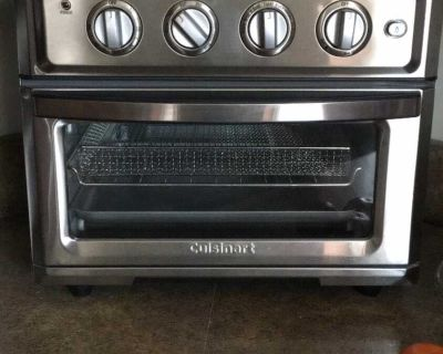 Like New Cuisinart Air Fryer, Toaster, Regular and Convection Oven