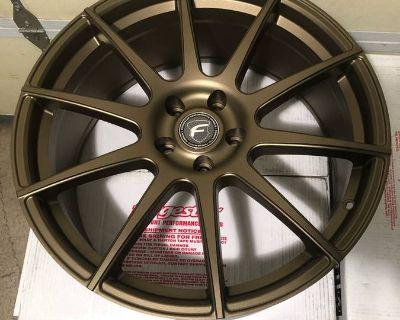 "Forgestar 20"" bronze CF10 wheels New in Box"