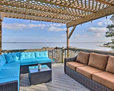 NEW! Vibrant Riverfront Gem w/ Private Beach, Dock - Rushmere