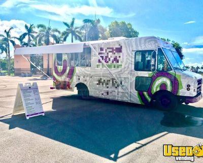 2002 Food Cart USA Diesel Work Horse 22' Stepvan Food Truck/Used Mobile Kitchen
